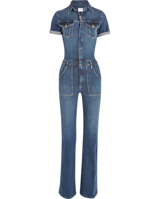 frame-denim-le-flare-de-francoise-stretch-denim-jumpsuit-blue-womens